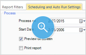 Schedule and Auto-Run Reports